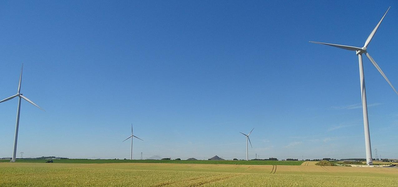Parc éolien de Lauwin-Planque, 10 July 2015.
