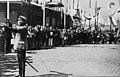 Pariisin olympialaisista saapuvien urheilijoiden vastaanottoseremonioita Etelärannassa 21.7.1924 - - hkm.HKMS000005-km0036fd.jpg