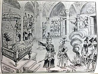 Parikshit - Parikshit was crowned by Yudhisthira
