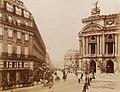 Paris, Place de L'Opera by Neurdein, c1885-90.jpg