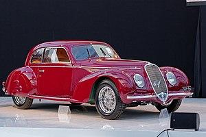 Alfa Romeo 6C - 1939 Alfa Romeo 6C 2500 Touring Berlinetta