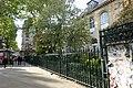 Paris 75006 Square Félix-Desruelles metal fence 20170423.jpg
