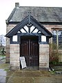 Parish Church of St Martin, Ashton upon Mersey, Porch - geograph.org.uk - 728522.jpg