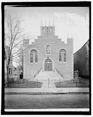 Park View, Washington, D.C. - Park View Christian Church ca. 1920.