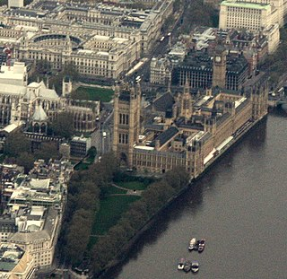 Parliamentary Estate Location in England