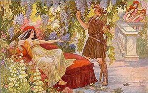 Parsifal - Parsifal postcard around 1900 – unknown artist
