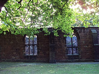 Listed buildings in Birkenhead - Image: Part of Birkenhead Priory 1