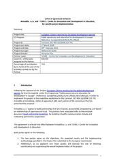 Partnership Agreement Letter Template