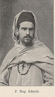 August Schynse German missionary and explorer