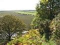 Path down from Sir John's Hill, Laugharne - geograph.org.uk - 583664.jpg