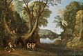 Paul Bril - Fauns in a wooded landscape.jpg