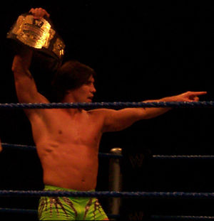 Paul London - London in 2005 as the WWE Cruiserweight Champion