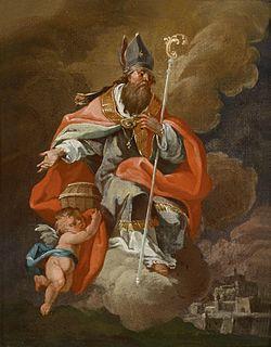 Paul Troger (Schule) Der heilige Rupertus und ein Engel.jpg