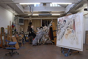 Paula Rego - Paula Rego's Studio