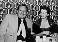 Paula Stafford dining out with her husband Beverley, 1949 (4541856819).jpg