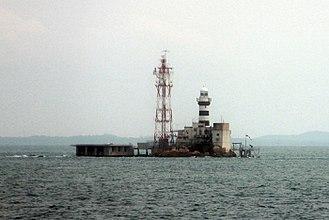 Pedra Branca, Singapore - Pedra Branca and Horsburgh Lighthouse