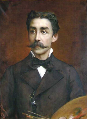 Pedro Américo - Self-portrait (c. 1895)