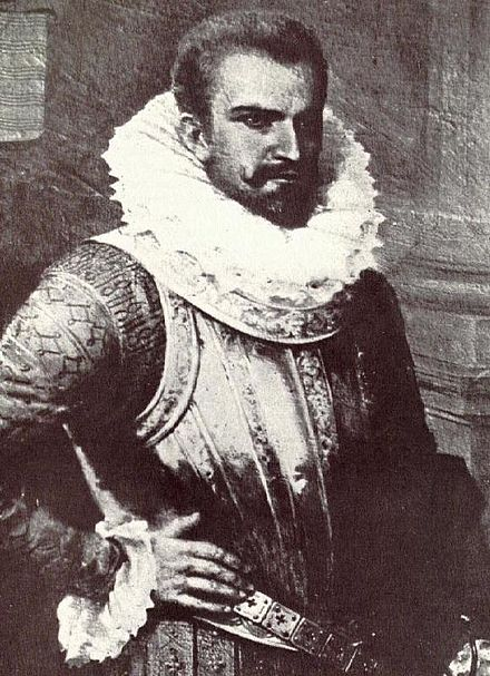 Spaniard conquistador Pedro de Alvarado and his army became the first to settle and establish European colonies in El Salvador in 1524. Pedro de Alvarado.JPG