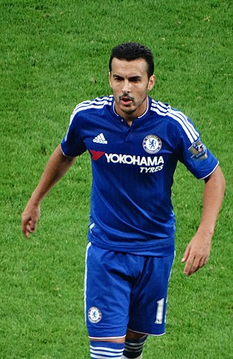 Pedro (footballer, born 1987) - Pedro playing for Chelsea in 2015.