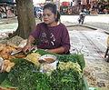 Penjual pecel di Borobudur.JPG