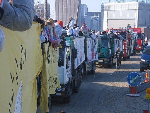 Penkkari truck convoy