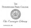 Pennsylvania State University Carnegie Library bookplate.png