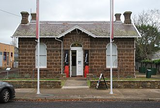 Shire of Mount Rouse - Former council chambers, Penshurst