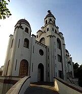 Perambur Our Lady of Lourdes church enterance