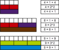 Perfect power number Cuisenaire rods 9.png