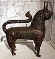 Periodo selgiuchide, incensiere a forma di leone, da khurasan (iran), 1150-1200 ca.jpg