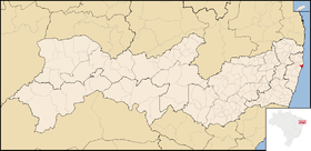 Localização de Olinda