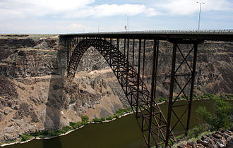 Perrine Bridge - Image: Perrine bridge 20070602