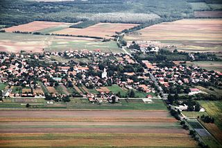 Péteri Place in Central Hungary, Hungary