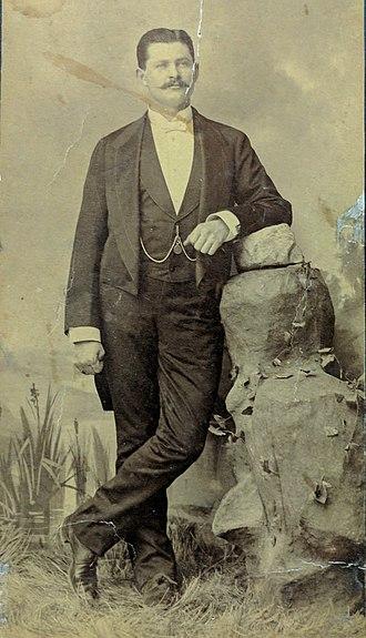 Peter E. Kern - Peter E. Kern in 1883.