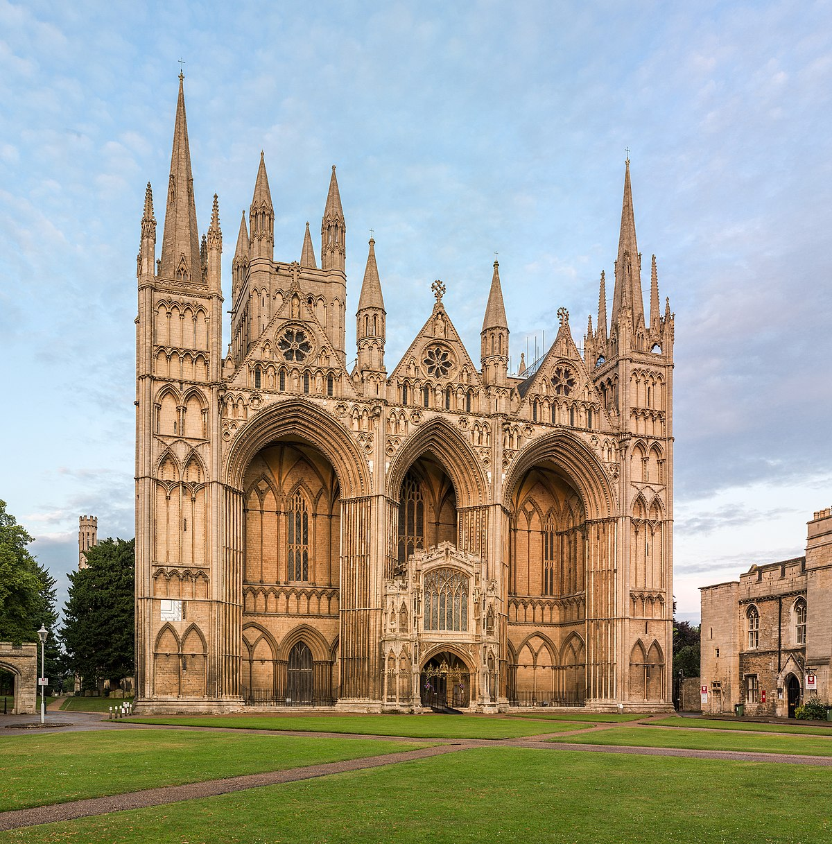 Peterborough Cathedral - Wikipedia