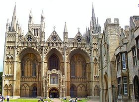 Image illustrative de l'article Cathédrale de Peterborough