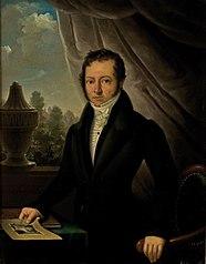 Portret van Christiaan Bernet (1770-1832)
