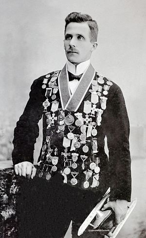 1904 World Allround Speed Skating Championships - Petter Sinnerud Disqualified at the 1904 World Championship