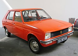 Peugeot 104 early one at the Peugeot Museum.JPG