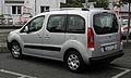 Peugeot Partner Tepee (II) – Heckansicht, 17. September 2011, Hilden.jpg