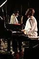 Pharoah Sanders Quartet ft Dwight Trible and Howard Johnson - INNtöne Jazzfestival 2013 16.jpg