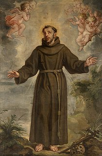 Francis of Assisi Italian Catholic saint, friar, deacon and preacher and founder of the Franciscan Order (1181/2–1226)