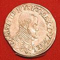 Philips II, eenvijfde philipsdaalder uit de periode 1558-1571.JPG