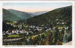 Phoenicia, New York - View of Phoenicia, 1910s