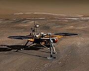 Phönix auf dem Mars (Computergrafik)