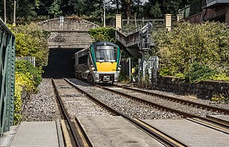 Phoenix Park Tunnel - Southern end of the tunnel