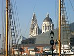 Pier Head buildings from Albert Dock.JPG