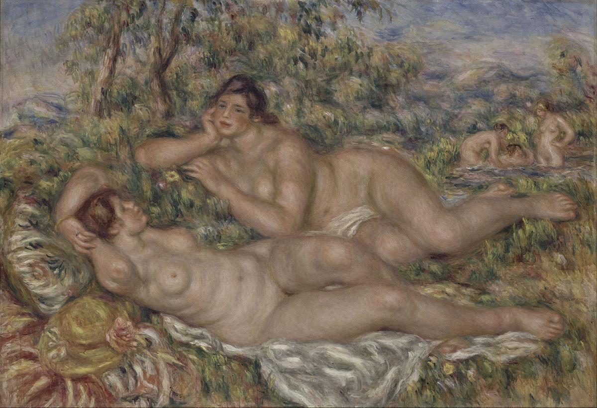 Pierre Auguste Renoir - The Bathers - Google Art Project.jpg