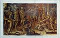 Pietro Candido e altri, monocromi della cappella dei pittori 07.JPG