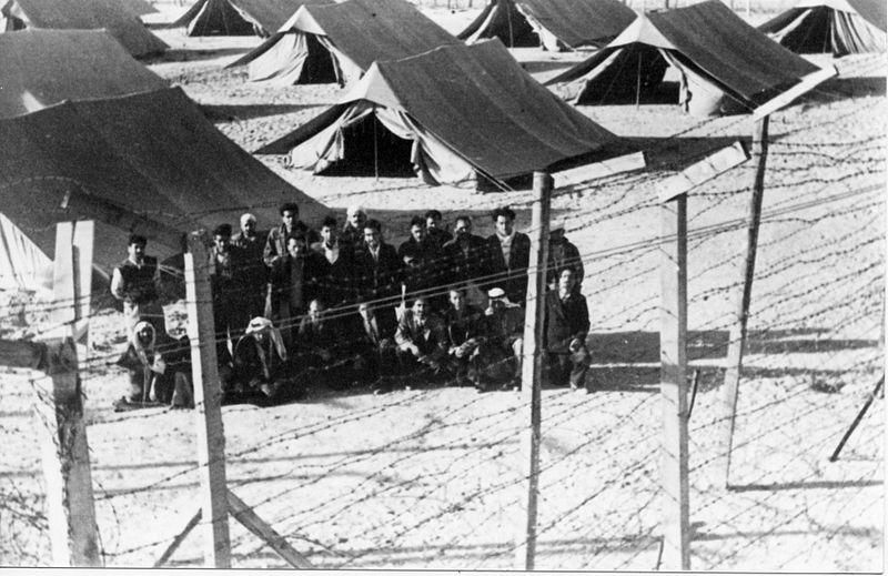 מחנה אסירים פוליטיים באבו עגילה